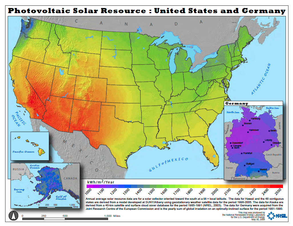 Vermont Weather Works Surprisingly Well For Solar Power - Vermont in us map