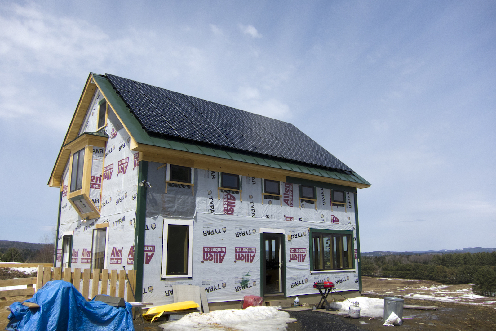 Building a new home for solar