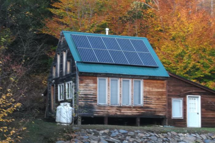 Calais VT SunCommon Solar Home