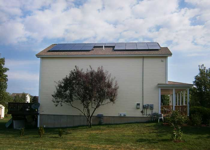 VT Solar Home   South Burlington
