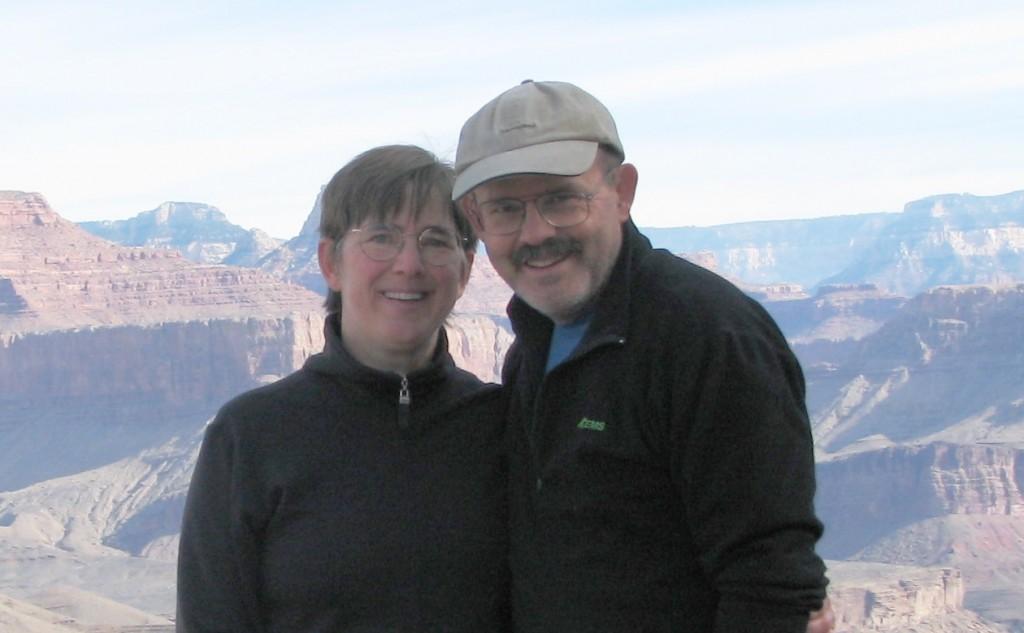 Joanne Heidkamp and Paul Demers