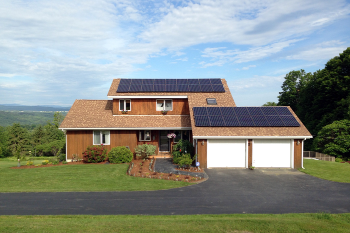 VT Solar Home   Barre Town