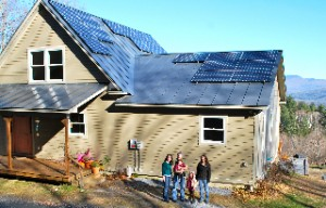 Duxbury's Newest Solar Home