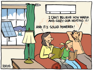 Amazing Energy From The Sun Can Heat And Cool Your Home, Replacing Dirty And  Expensive Oil Or Propane. A Typical Homeowner Can Save Hundreds Of Dollars  Each Year ...