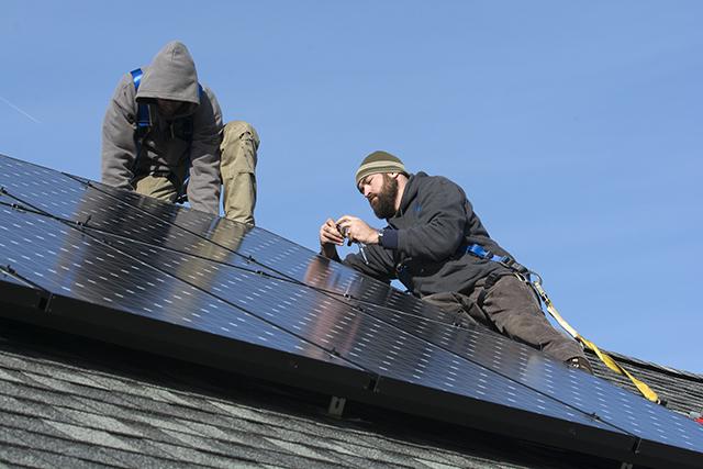 SunCommon solar installation