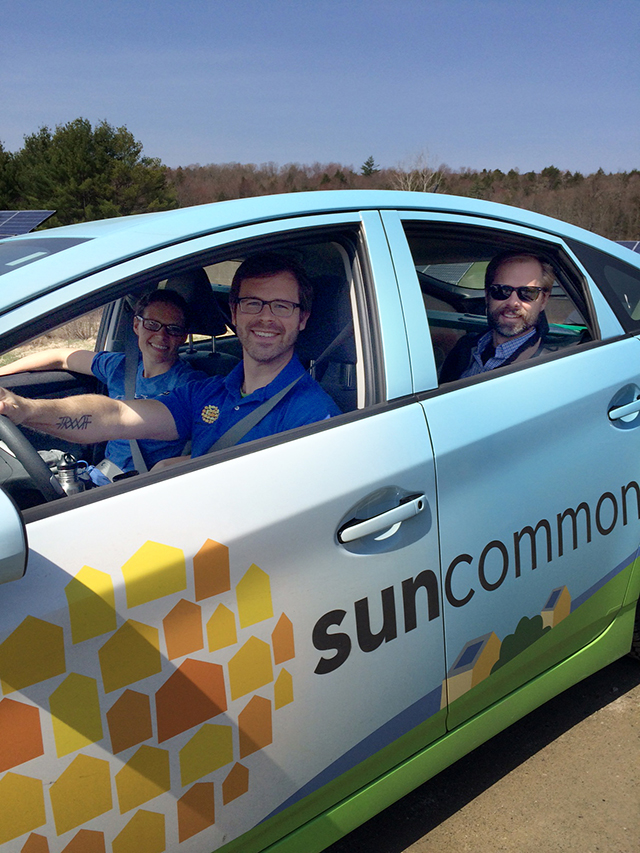 SunCommon wins Way To Go Commuter Challenge