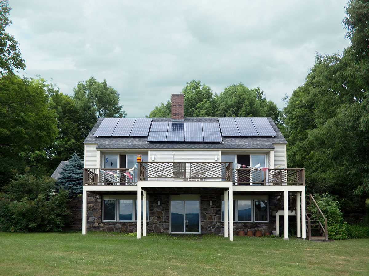Contemporary Home with Solar