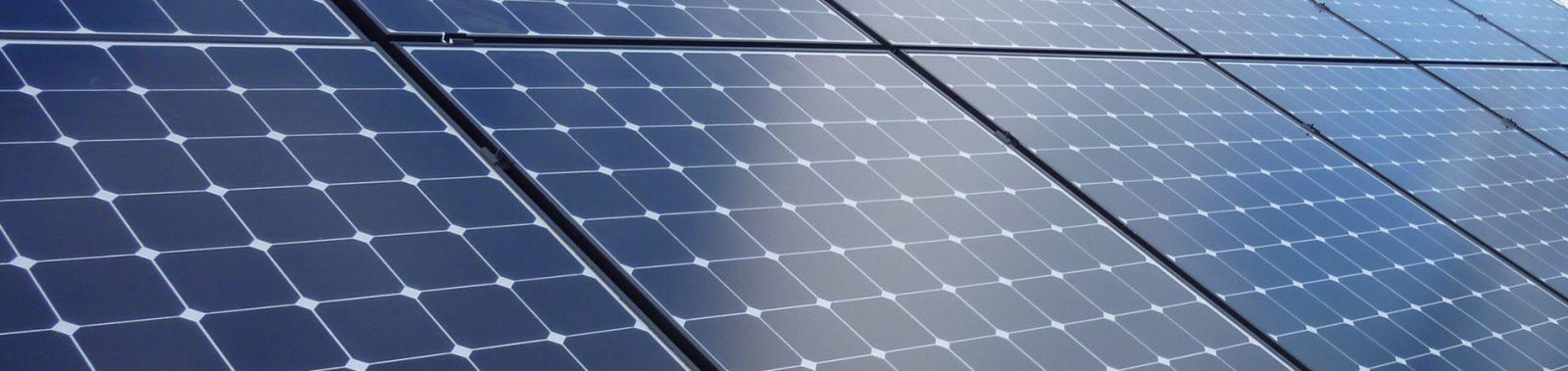 Solar Panels Upclose Hero Slider