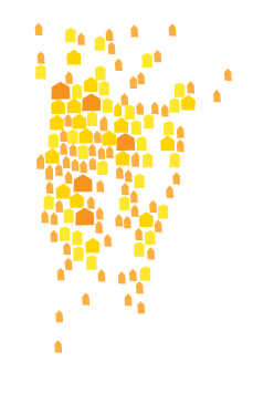 Map of solar installations by SunCommon in VT