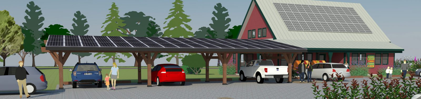 Canopy Hero Image Small Business Solar Carport
