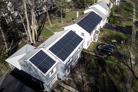 NY residential solar arrays