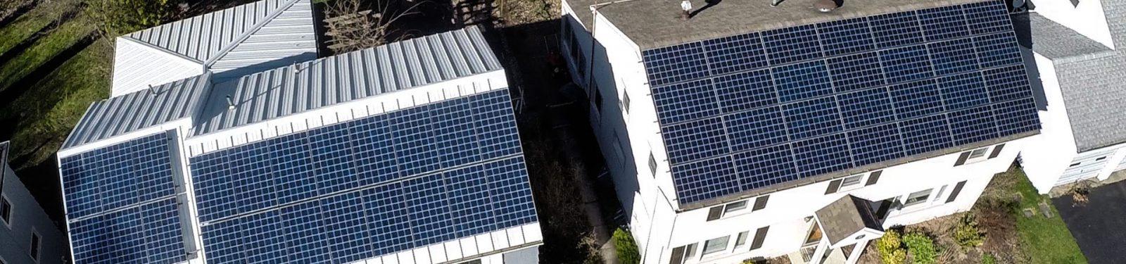 NY rooftop solar array slider