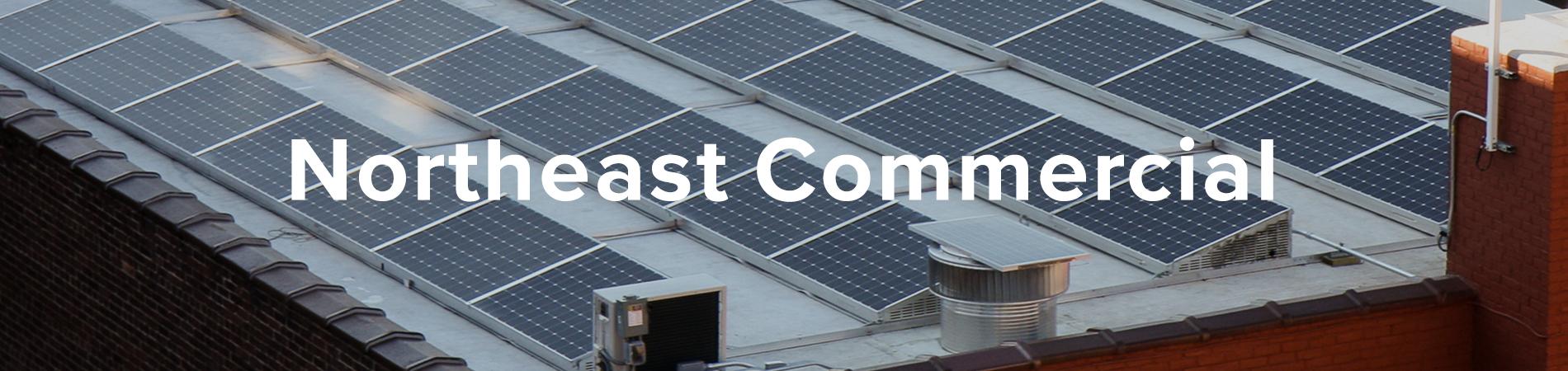 SunCommon Northeast commercial solar banner