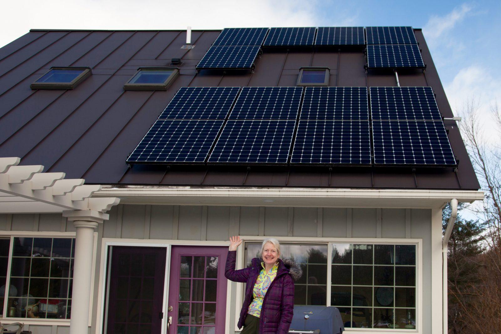 Annette Halasz - Middlesex Vermont Solar Home
