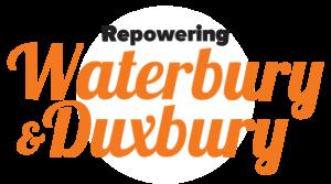 Repowering Waterbury and Duxbury with Solar Logo