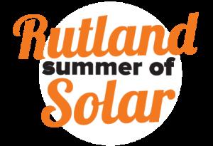 Rutland Summer of Solar Campaign Logo