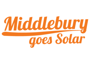 Middlebury Goes Solar Campaign Logo