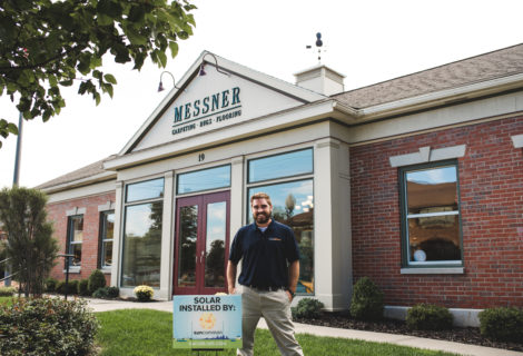 Faces of SunCommon NY: Meet Our Customer, Messner Carpet
