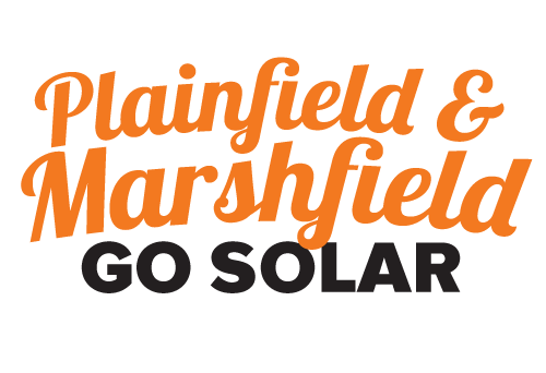 Plainfield and Marshfield Go Solar Campaign