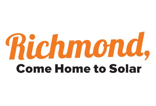 Richmond Come Home to Solar Campaign Logo