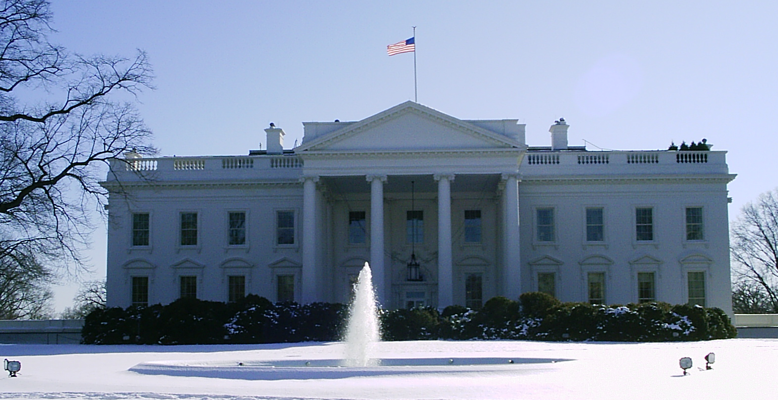 Picture of the White House which recently approved the Solar Tax