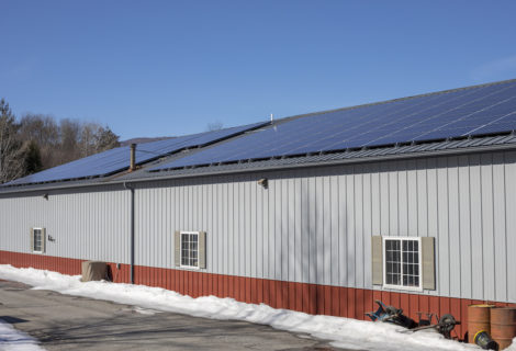 Waterbury Business, S.T. Paving, is Sharing Excess Solar with Employees.