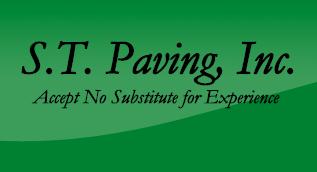 ST Paving Inc Logo