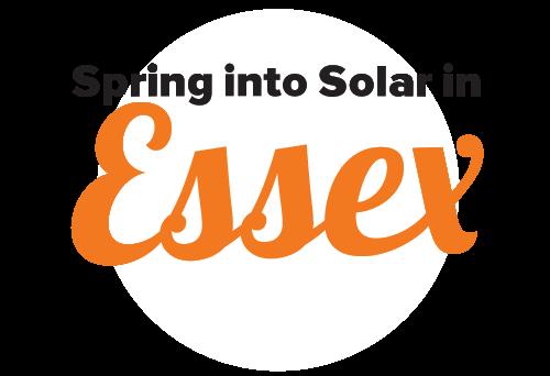 Essex Spring Into Solar Campaign Logo