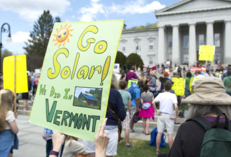 Vermont's Public Utility Commission lowers state solar incentive.