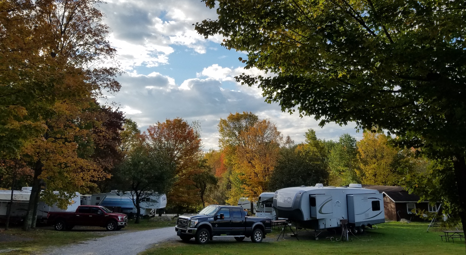 Solar-Powered Camping in Georgia, Vermont