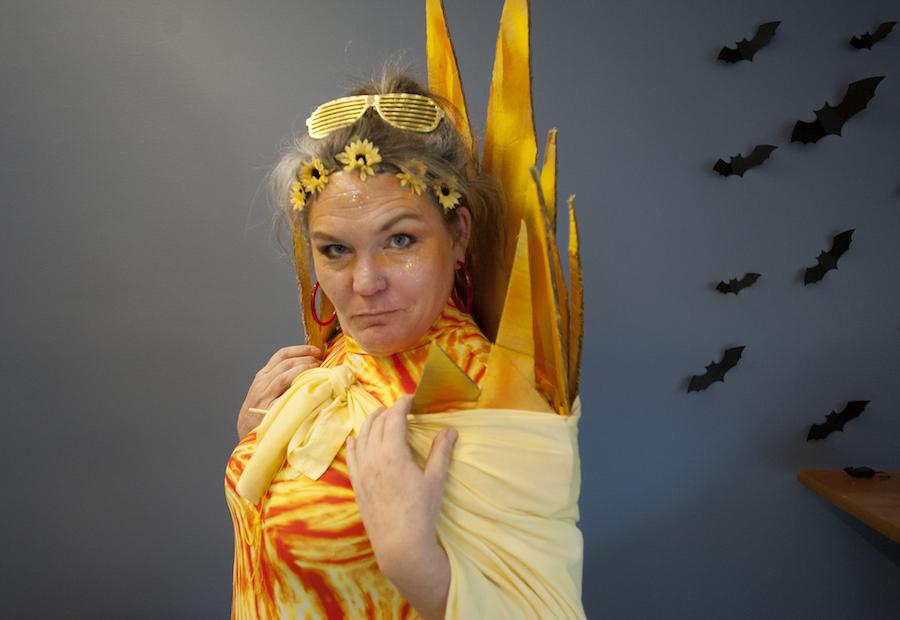 Climate Solar Goddess Halloween Costume