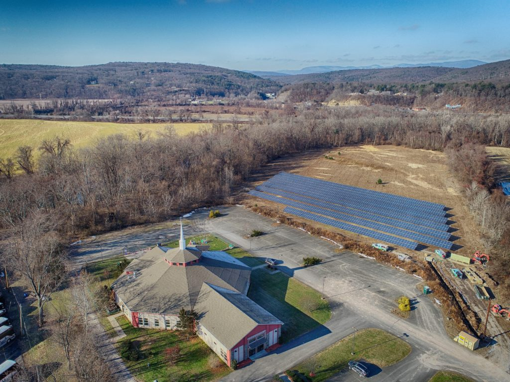 Pointe of Praise CSA Solar Array