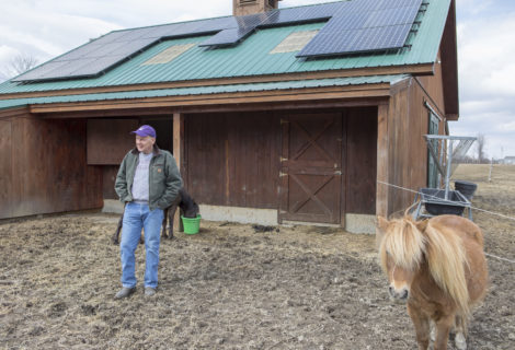 Horse Barn Owner in Monkton, Vermont Gets Rooftop Solar