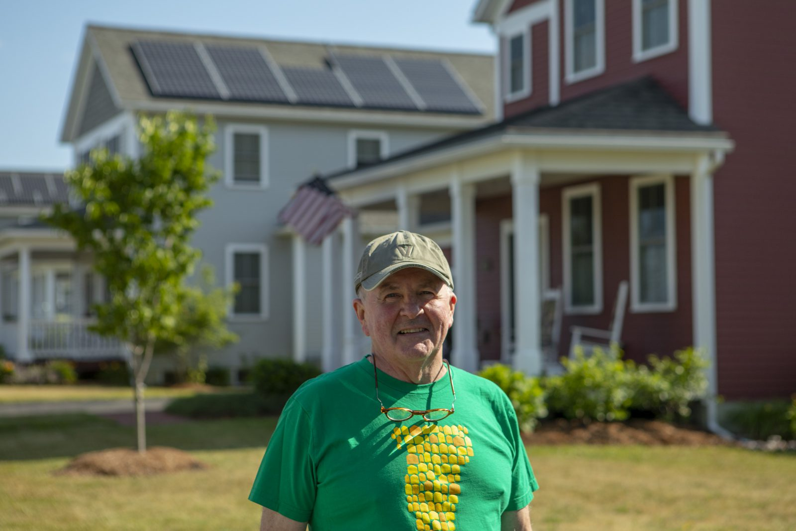 South Burlington Homeowner with Rooftop Solar