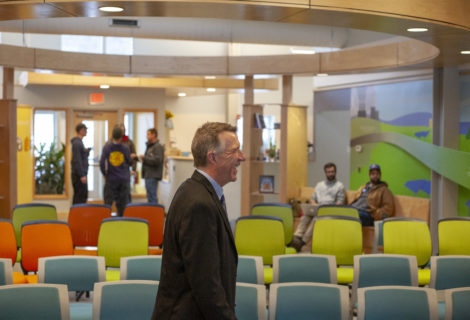 Gov. Phil Scott Visits SunCommon and Calls Energy Independence A Goal For Vermont