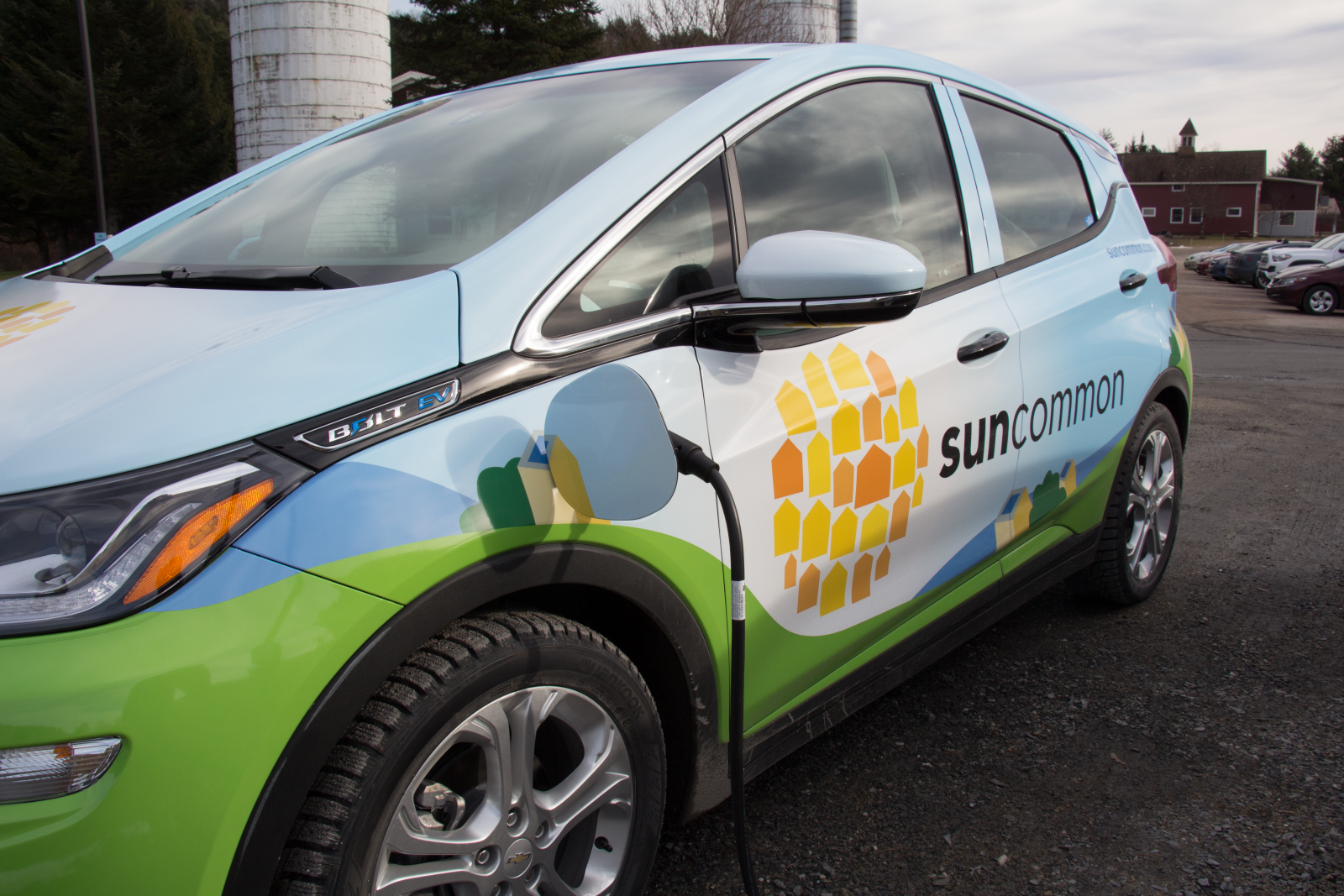 SunCommon Car Chevy Bolt Charging