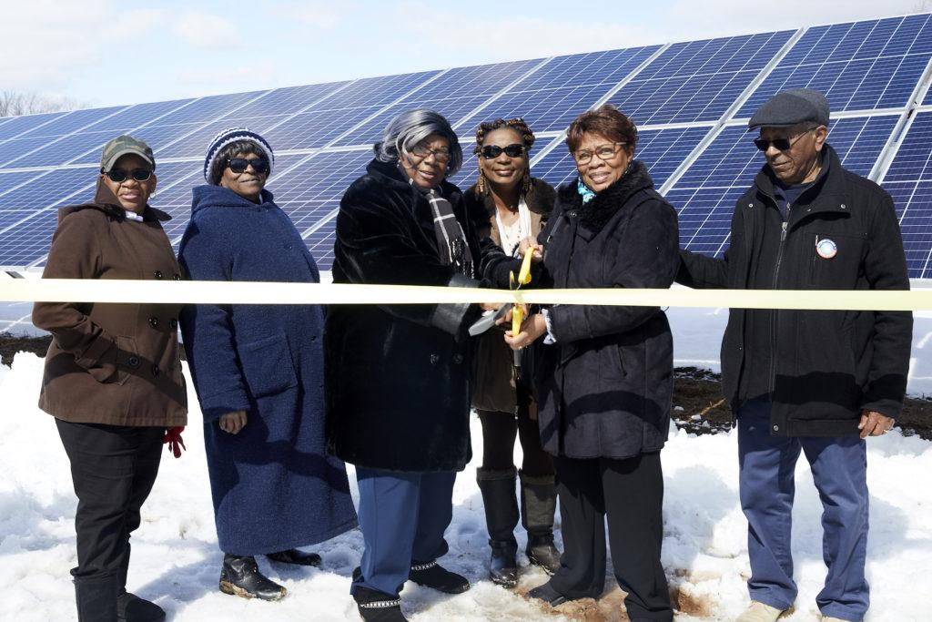 Pointe of Praise CSA Solar Array