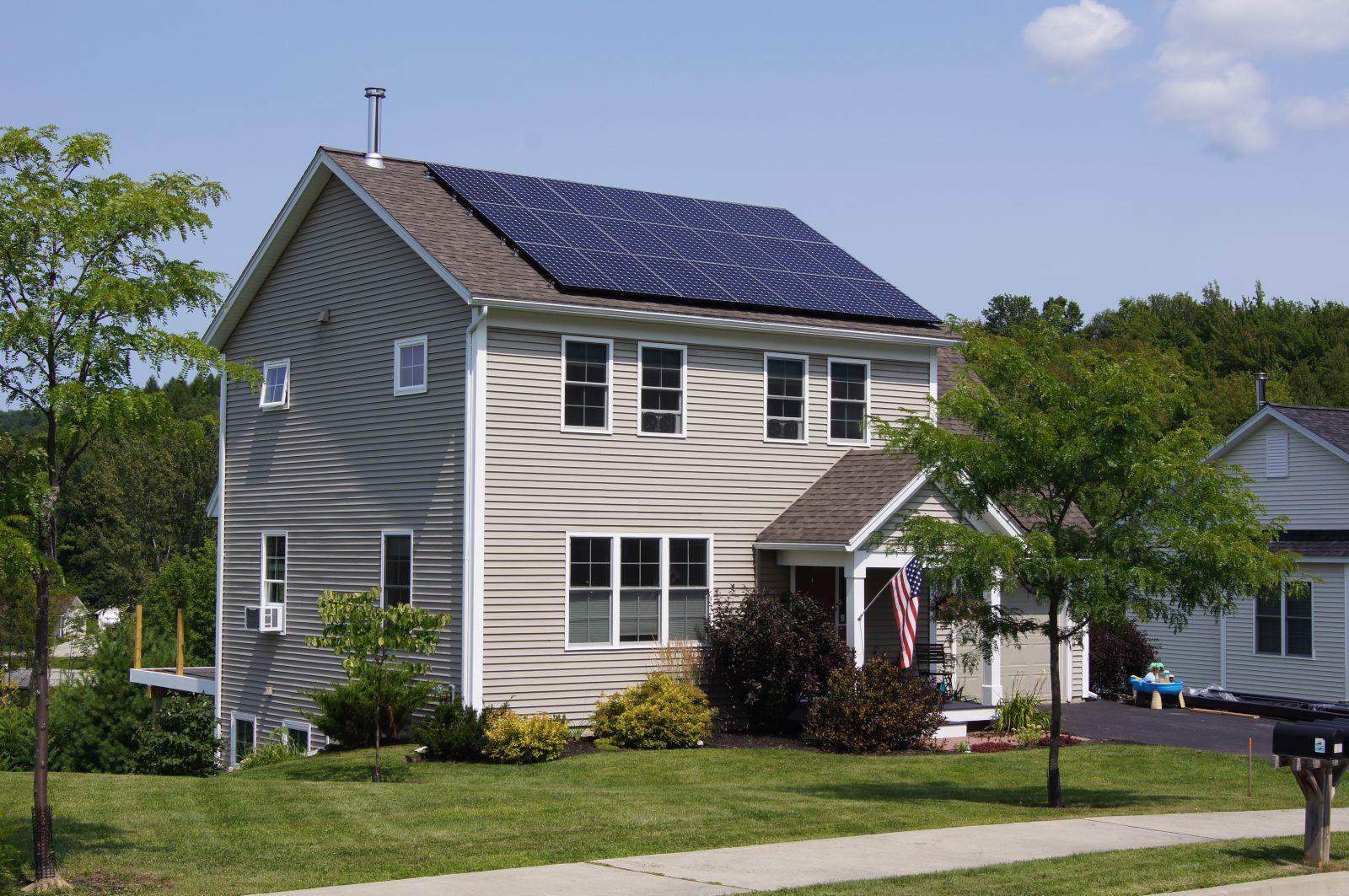 Wayne Maceyka Home Solar Hinesburg Vermont