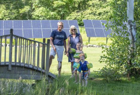 Richmond Residents Enjoy the Benefits of Solar and a Heat Pump
