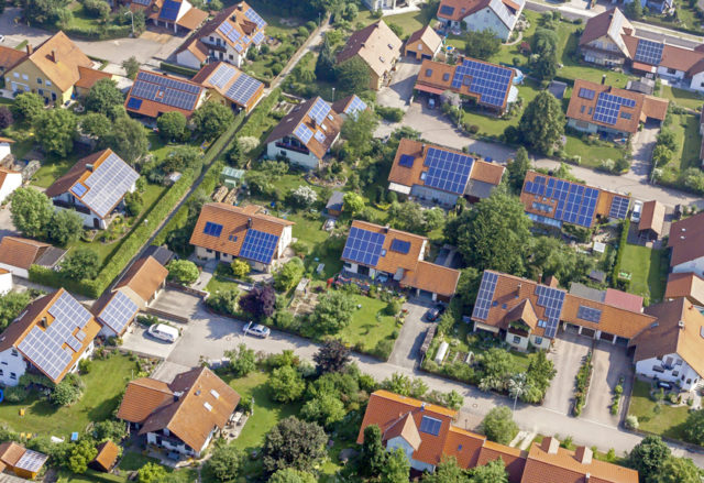 residential rooftop solar climate change