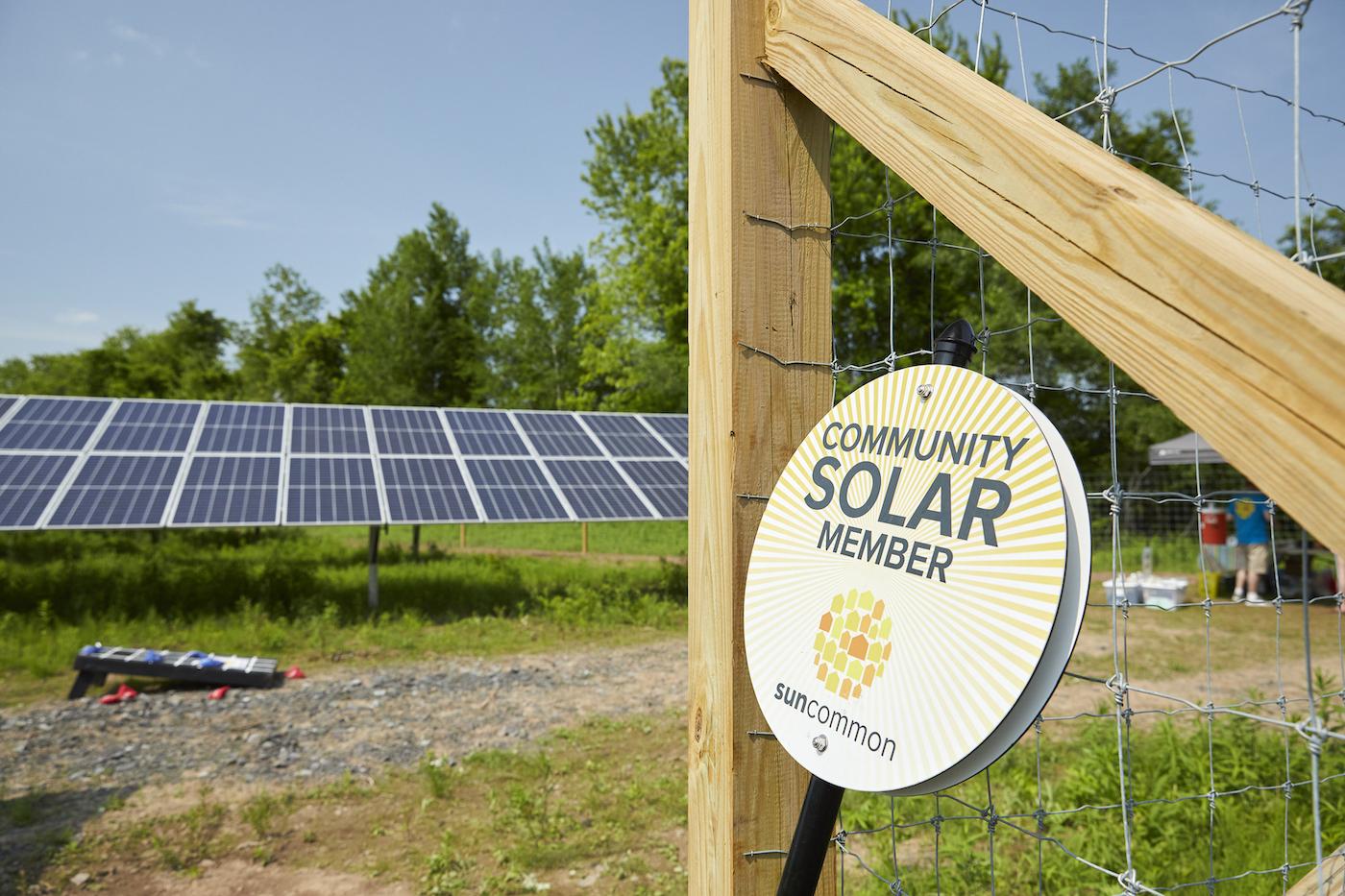 Pointe of Praise Community Solar Array