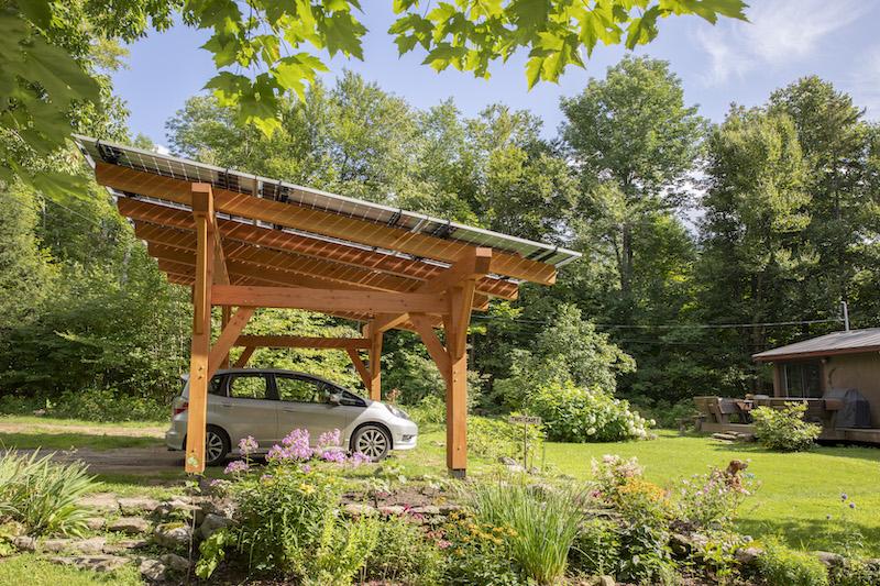 Underhill VT Solar Canopy