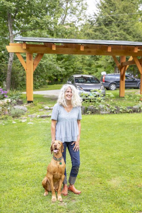 Nicole's New Underhill Solar Canopy