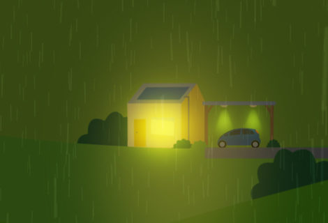 Battery Storage Keeps the Lights on During Major Storm