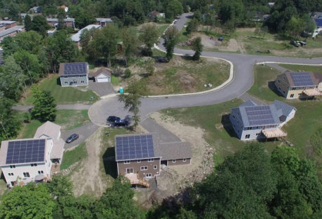 Building Net-Zero Solar Homes