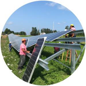 Huron NY Community Solar Array SunCommon