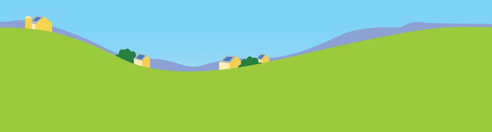 VT hills landscape graphic