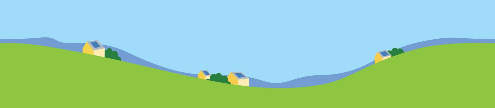 Rolling VT hills cartoon slider