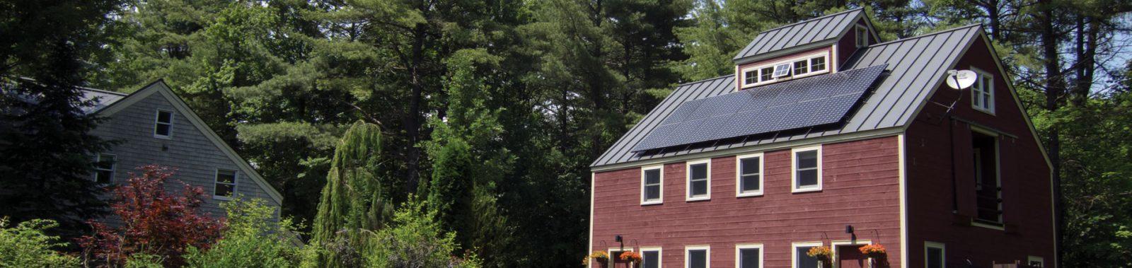 Residential solar in Panton